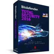 Bitdefender Total Security 2016, 1 an, 3 utilizatori - LICENTA RENEWAL