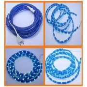 PN 15 Meter Led Rope Blue Decorative Lights For Diwali Navratra And Christmas Decorations