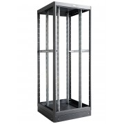 "Armadio Server Rack 19"" 800x800 42 Unita' Nero Open Frame"