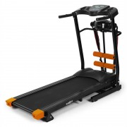 Klarfit Treado Advanced - Tapete corrida Pulsómetro Preto