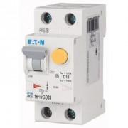 Eaton Interruttore Magnetotermico Differenziale, 16a, 30ma, Curva: C, 1p+n, Curva: Ac