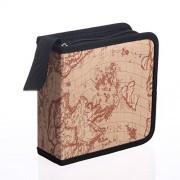 AST Works 40 CD DVD Travel Car Black Carry Case Disc Storage Holder Sleeve Wallet Bag Gift