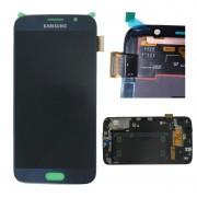 LCD / Display e touch Samsung Galaxy S6 G920F Original Preto/Azul