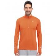 Nike Dry Element Long Sleeve Running Top Turf OrangeReflective Silver