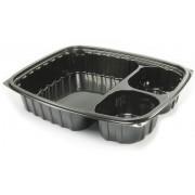 "Envase Plastico OPS ""ClearPac"" 3 C. Negro 887ml (252 Uds)"