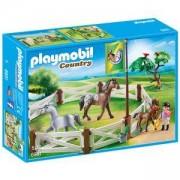 Комплект Плеймобил - Заграждение за коне, Playmobil, 2900239