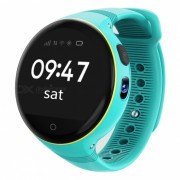 ZGPAX S668 Kid's Wi-Fi GPS Smart Watch Telefono SOS Tracker-Azul