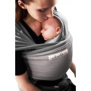 """je porte mon bébé Écharpe JPMBB """"L'Originale"""" Eléphant Gris clair"""