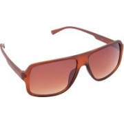 Optistation Rectangular Sunglasses(Violet)
