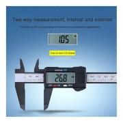 Los Compuestos De Fibra De Carbono Calibre Digital 0-150mm Micrómetro Indicador útil De Medición