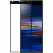 Azuri Curved Gehard Glas Sony Xperia 10 Screenprotector Glas Zwart