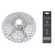 Shimano Deore XT CS-M770 kassett 11-32 & CN-HG93 kedja Drivlina Set 9-delad silver 2018 Kedja & Kassett Paket