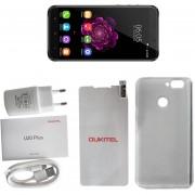 ER OUKITEL U20Plus 5.5 Pulgadas Octa Core Smartphone 2G RAM ROM 16G Para Android 6.0 -Gris
