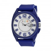 Crayo Sunset Unisex Watch w/Magnified Date - Blue CRACR3305