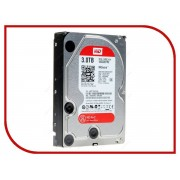 Жесткий диск 3Tb - Western Digital WD30EFRX Caviar Red