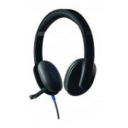 Logitech H540 Binaural Head-band Black headset