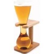 Bar Originale - Quarter Yard of Ale Glas - Houten standard - Kwak Koetsiers bierglas