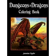 Dungeons & Dragons Coloring Book, Paperback/Jasmine Taylor