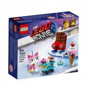 Set de constructie LEGO Movie Cei mai simpatici prieteni ai lui Unikitty!