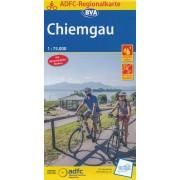 Fietskaart ADFC Regionalkarte Chiemgau   BVA
