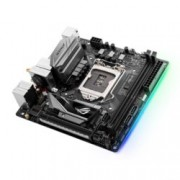 Дънна платка Asus ROG Strix B250I Gaming, B250, LGA1151, DDR4, PCI-E(DP&HDMI), 4x SATA 6Gb/s, 2x M.2 sockets, 4x USB 3.1 Gen1, Wi-Fi/Bluetooth, Asus Aura RGB подсветка, miniITX