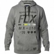FOX Sudadera Fox District 2 Heather Graphite