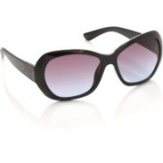 Opium Over-sized Sunglasses(Blue, Pink)