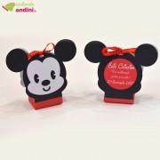 Cutiuță Mărturie Personalizată Mickey Mouse
