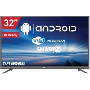 "Televizor TV 32"" Smart LED VOX 32ADS311G,1366x768 (HD Ready), WiFi, T2, Android, Sivi"