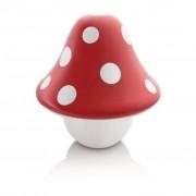 Philips Lâmpada de mesa Boletu vermelho 3,6W