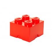 40031730 Cutie depozitare LEGO 2x2 rosu