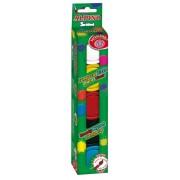 Tempera lavabila, 5 culori x 40ml/cutie + pensula gratis, Alpino