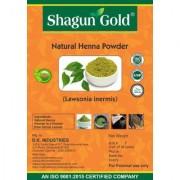 Shagun Gold Natural Henna Powder (lawsonia Inermis ) 100g