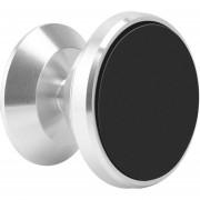 362 Altamente Ajustable Teléfono Inteligente Universal Holder Soporte De Coche Magnético Aireador -plata