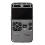 8GB Rechargeable LCD Digital Audio Sound Voice Recorder Dictaphone