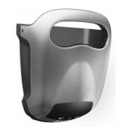 Vama Sèche-Mains Hands-in Gris Très Silencieux 60dB - 10 sec - avec Bac d'Égouttage