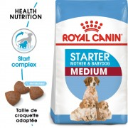 Royal Canin Medium Starter Mother & Babydog pour chiot - 12 kg
