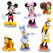 Official Disney ''Minnie's Pet Shop'' Minnie Mouse Figure Set -- 6-Pc.