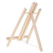 ELECTROPRIME® 40cm Mini Wood Easel Canvas Art Craft Tabletop Dispaly Stand Wedding Party