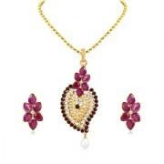 Sukkhi Charming Gold Plated Pendant Set For Women