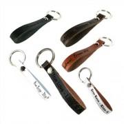 Unique Handlicher Leder Schlüsselanhänger mit Gravur