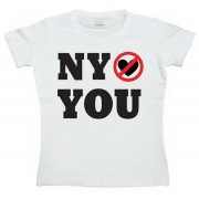 New York Do Not Love You! Girly T-shirt, Girly T-shirt