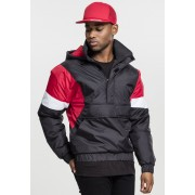 3-Tone Pull Over Jacket black/fire red/white XXL
