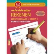 Tijd voor Huiswerk Oefenblaadjes- rekenen eerste trimester 6-7 jaar