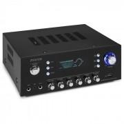 Fenton AV120FM Amplificador estéreo Hi-Fi 120W RMS (2x60W, 8 Ohm) BT USB AUX (Sky-103.207)