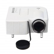 Excelvan UC28+ Proyector 48 Lux 300:1 F=125 LCD Projector US Plug-Blanco (cx)