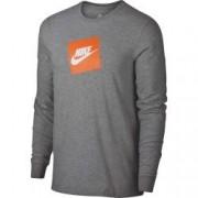 Bluza cu maneca lunga barbati Nike NSW TEE LS FUTURA BOX HBR gri L