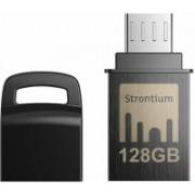 Strontium 128GB NITRO ON-THE-GO (OTG) USB 3.0 FLASH DRIVE 128 GB OTG Drive(Black, Type A to Micro USB)