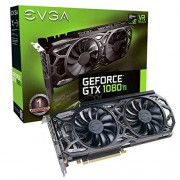 EVGA GeForce GTX 1080Ti SC Black Edition GAMING, 11GB GDDR5X, iCX Cooler & LED, geoptimaliseerd luchtstroomontwerp, geïnterlinieerde grafische kaart Fin Fin 11G-P4-6393-KR