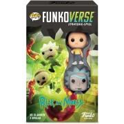 Rick And Morty Funkoverse 100 Brettspiel-multicolor - Offizieller & Lizenzierter Fanartikel Onesize Unisex